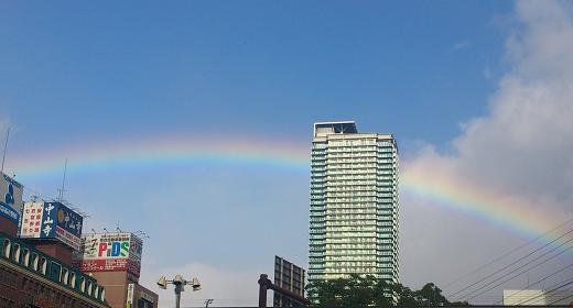 虹色の幸せ、もらった日♪_c0098807_23203146.jpg
