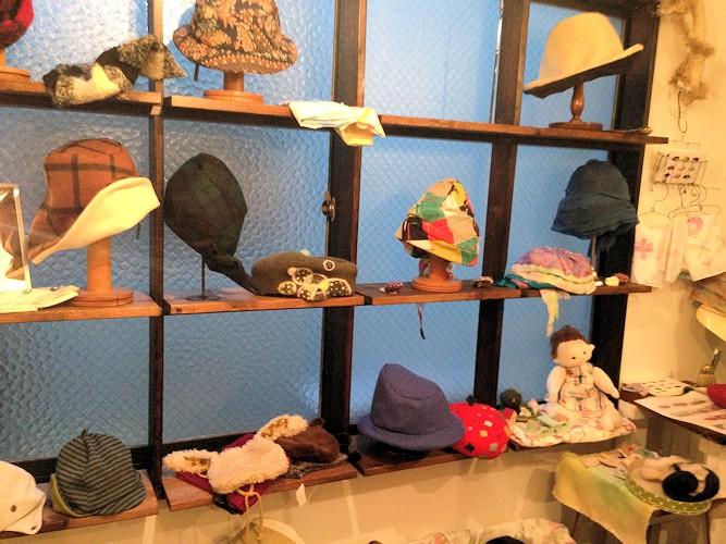 オトナとコドモの帽子展_d0086634_9241555.jpg