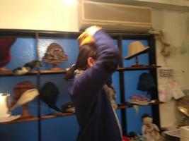 オトナとコドモの帽子展_d0086634_924349.jpg