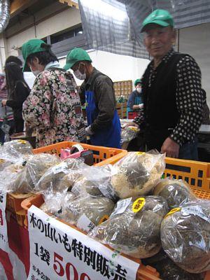 「木の山芋」今年の新芋出荷はじまる_c0141652_174580.jpg