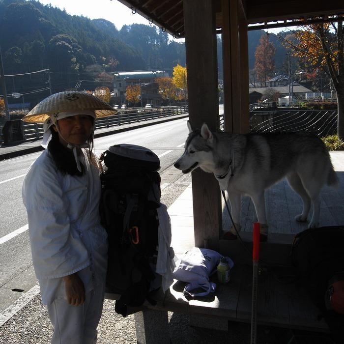 Memory of the second pilgrimage with husky HANA_c0049299_17542755.jpg