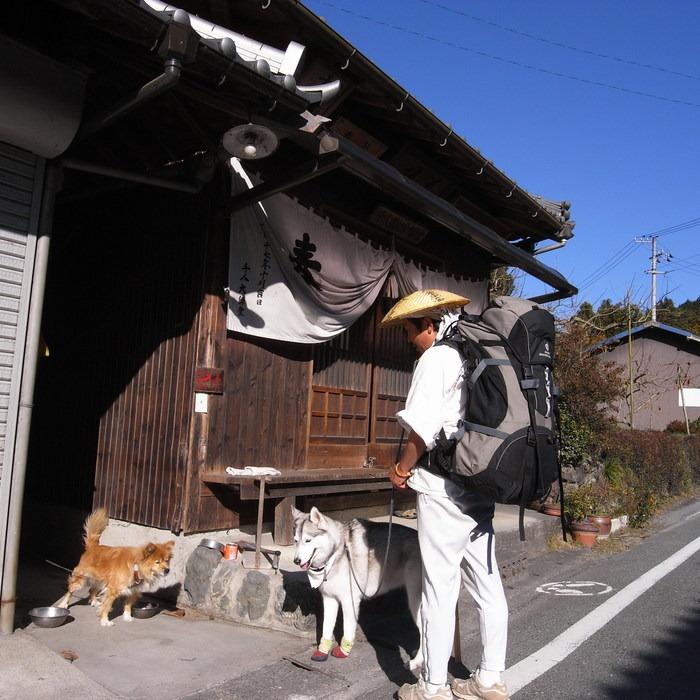 Memory of the second pilgrimage with husky HANA_c0049299_17572739.jpg