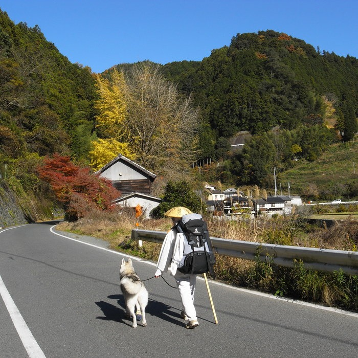 Memory of the second pilgrimage with husky HANA_c0049299_17575422.jpg