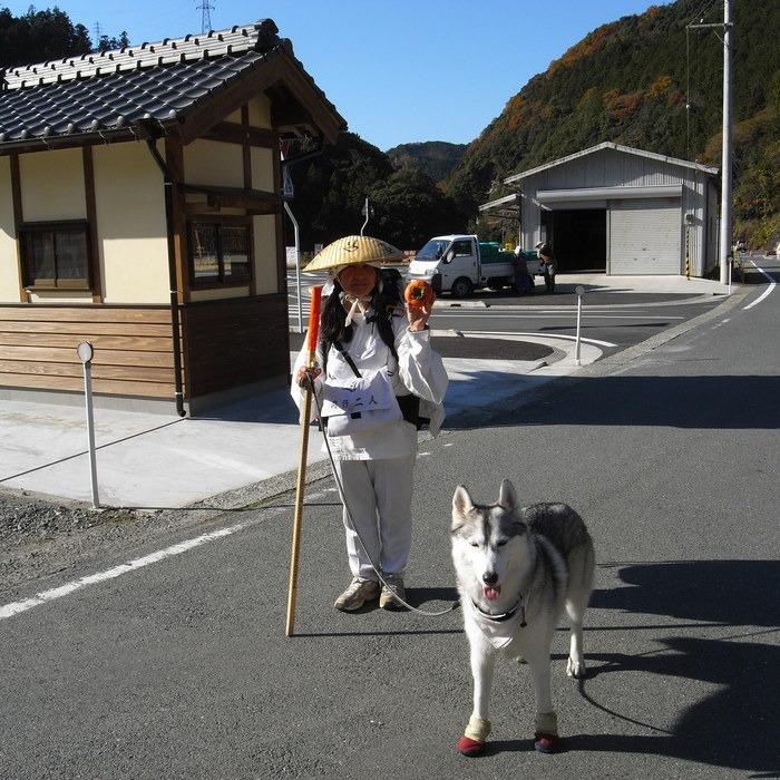 Memory of the second pilgrimage with husky HANA_c0049299_17591974.jpg
