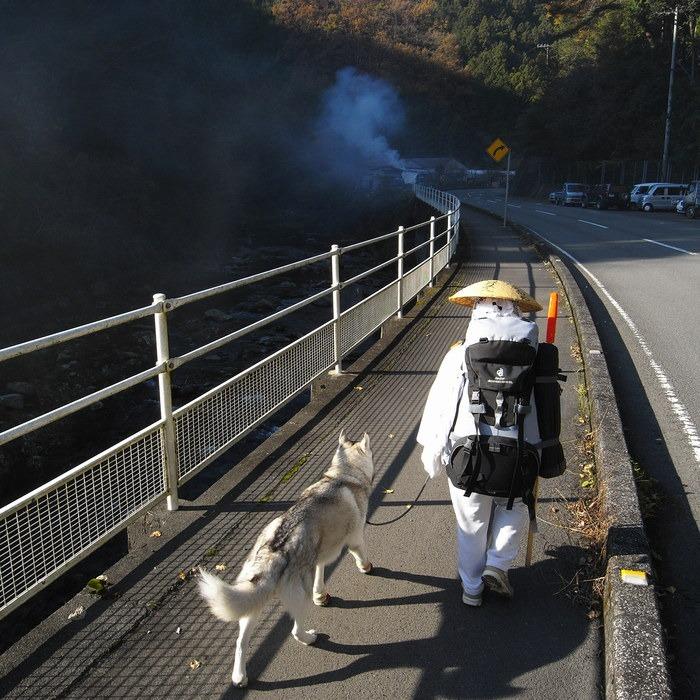 Memory of the second pilgrimage with husky HANA_c0049299_1801017.jpg