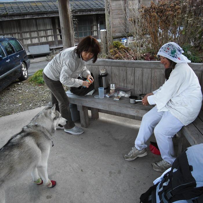 Memory of the second pilgrimage with husky HANA_c0049299_1863369.jpg