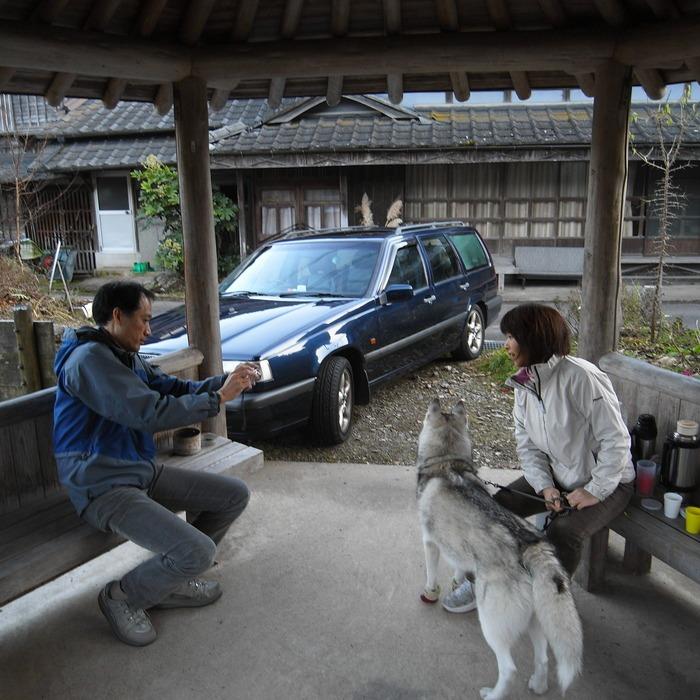 Memory of the second pilgrimage with husky HANA_c0049299_1865117.jpg