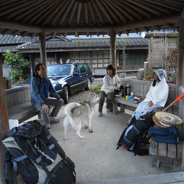 Memory of the second pilgrimage with husky HANA_c0049299_187669.jpg