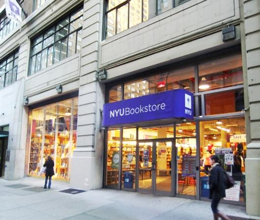 ニューヨークの大学生気分をちょっぴり味わえる本屋さん NYU Bookstore_b0007805_13462318.jpg