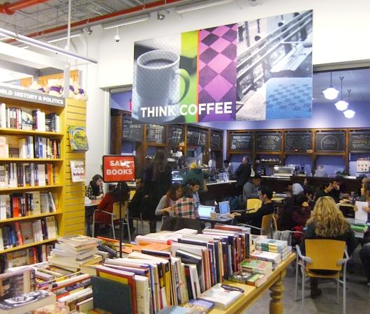 ニューヨークの大学生気分をちょっぴり味わえる本屋さん NYU Bookstore_b0007805_1347124.jpg