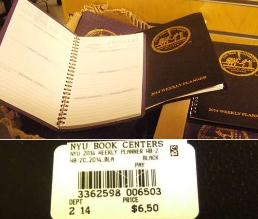 ニューヨークの大学生気分をちょっぴり味わえる本屋さん NYU Bookstore_b0007805_13475696.jpg