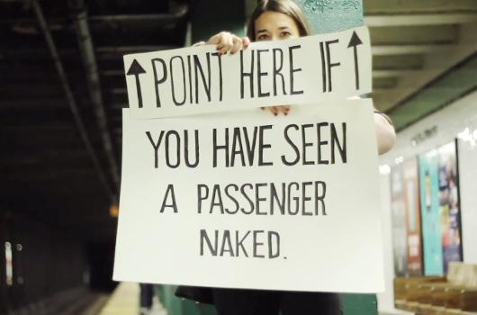 NYの地下鉄の車掌さんに笑顔になってもらう実験?! The New York Subway Signs Experiment_b0007805_4255530.jpg