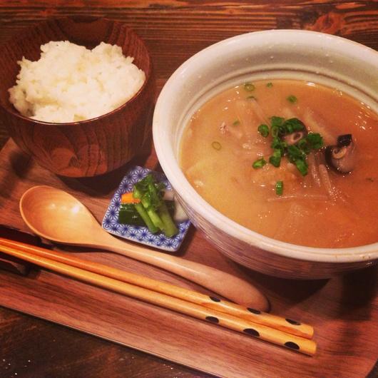 野菜いっぱいの【丼ぶり】お味噌汁ランチ。_f0301305_16143475.jpg