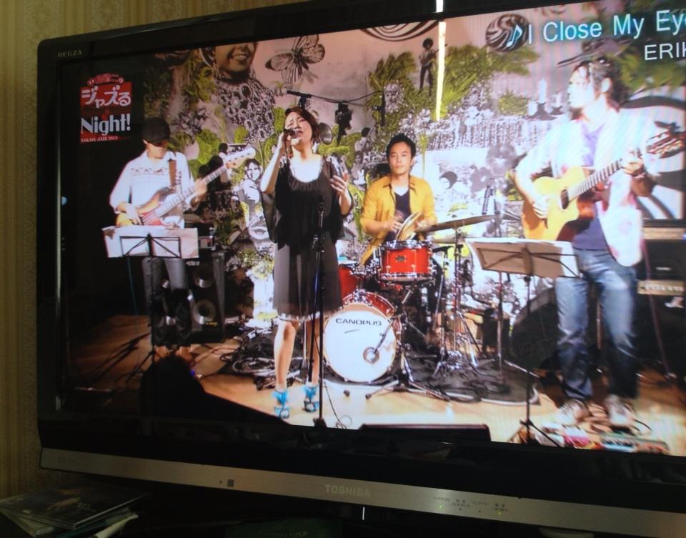 KBCテレビ、中洲ジャズでナカジーの一押しに選ばれましたー♬_a0150139_8474020.jpg