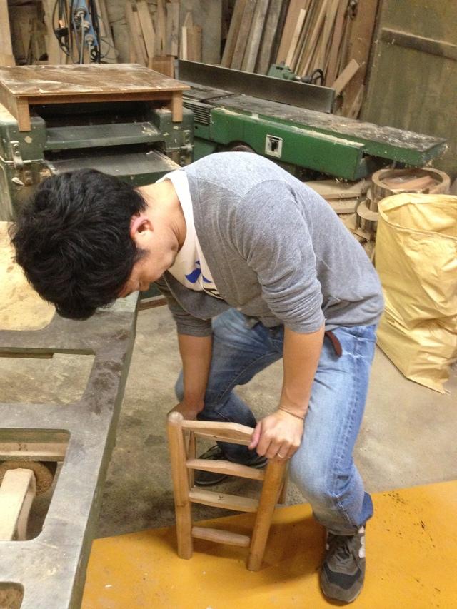 椅子作りinルークラフト4_c0213352_1317670.jpg