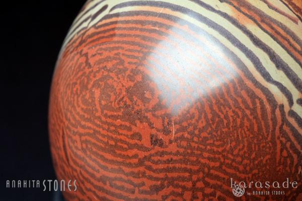 ゼブラストーン丸玉(オーストラリア産)_d0303974_19125715.jpg