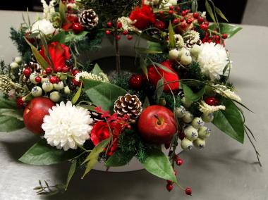 オフィスにもクリスマスを_c0157501_22272189.jpg