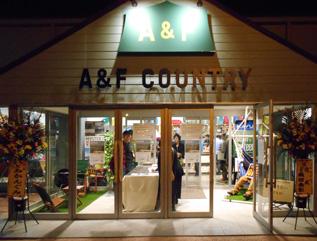 A&F COUNRY 安曇野店様 OPEN!_e0180332_9452365.jpg