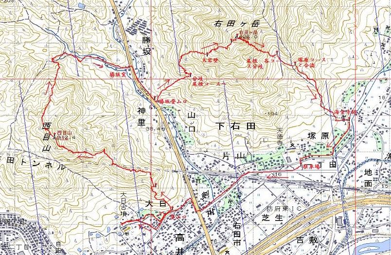 西目山~右田ヶ岳_e0164643_20174678.jpg