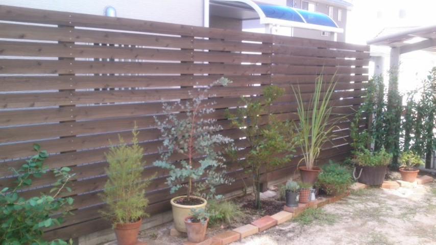 東区Tさま邸のフェンス工事をしました_d0237564_20255543.jpg