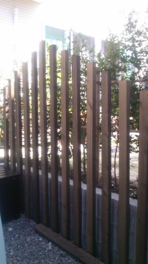 東区Tさま邸のフェンス工事をしました_d0237564_20265010.jpg