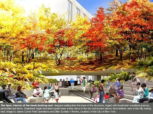 NYの空中公園ハイラインに新設されるボール型ガーデン(The Spur)のデザイン公開_b0007805_22265886.jpg