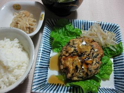 ささみの野菜ロ-ル♪、豆腐いっぱい入りハンバ-グ♪_f0116812_17482983.jpg