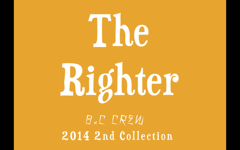 "「O.C CREW 2014 2nd Collection ""The Righter\""」_c0289919_19172179.png"