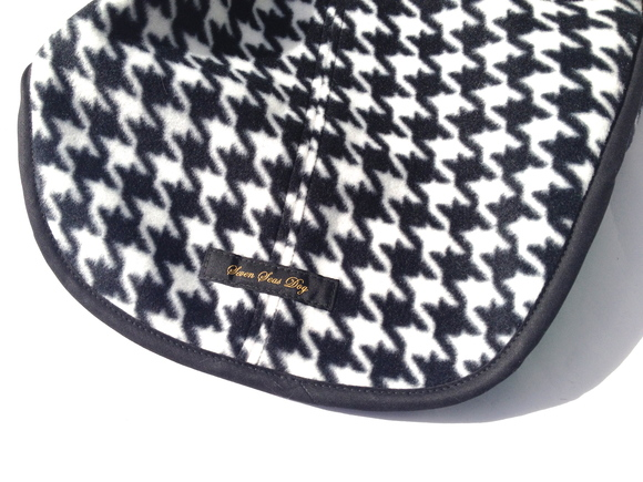 ILKARE Dog Jacket Hounds Tooth Check  ドッグ ジャケット ハウンド トゥース チェック グリーン_d0217958_16575131.jpg
