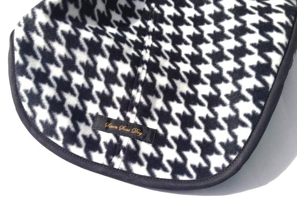 ILKARE Dog Jacket イルカレ ドッグジャケット ハウンド トゥース グリーン_d0217958_16575131.jpg