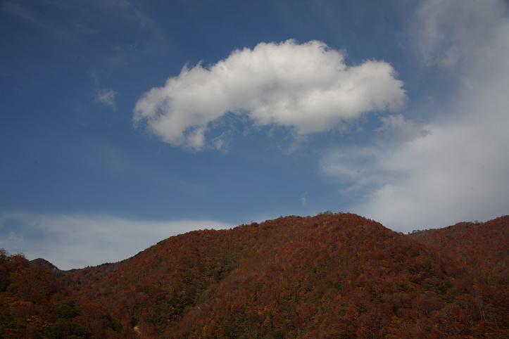 西郷村 甲子高原・甲子トンネル付近の紅葉 _e0165983_9464940.jpg