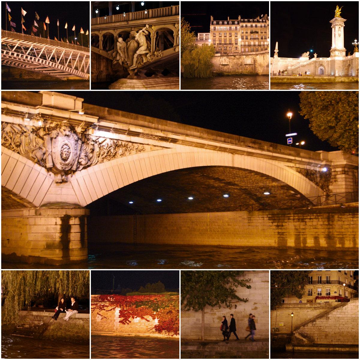秋のパリ日記2:ロマンチック♪セーヌ川のディナークルーズ_e0114020_0533015.jpg