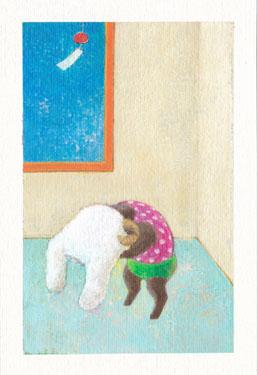 Illustrations - 「サニー」展_e0221333_23111334.jpg