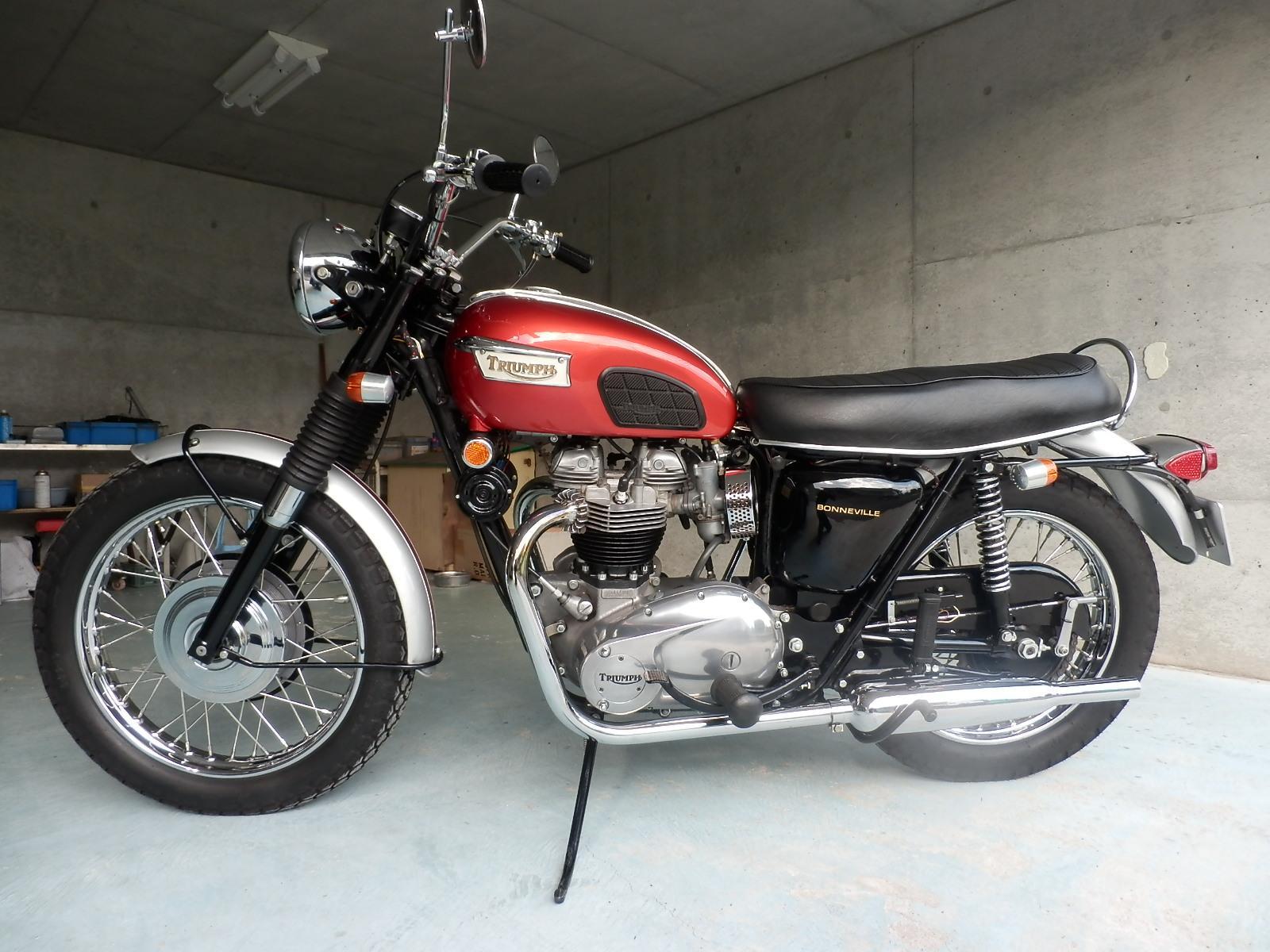 1969年 Triumph T120R_b0153544_2255142.jpg
