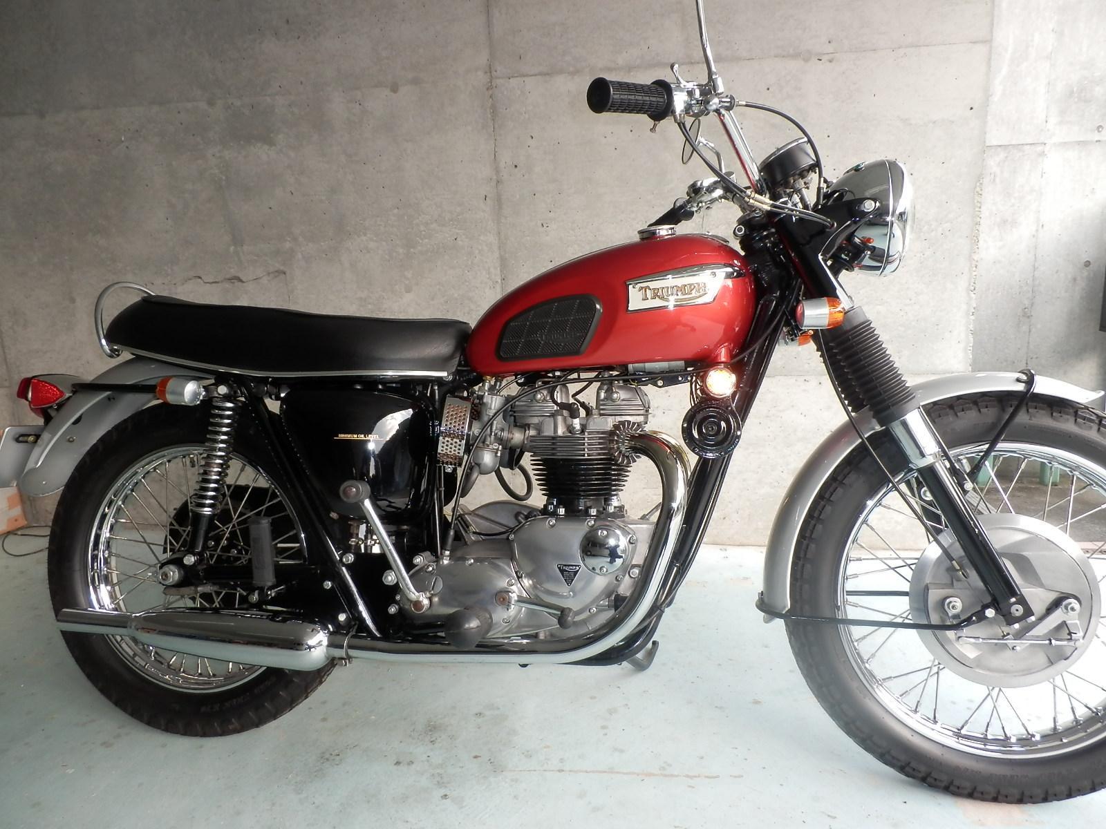 1969年 Triumph T120R_b0153544_22552865.jpg