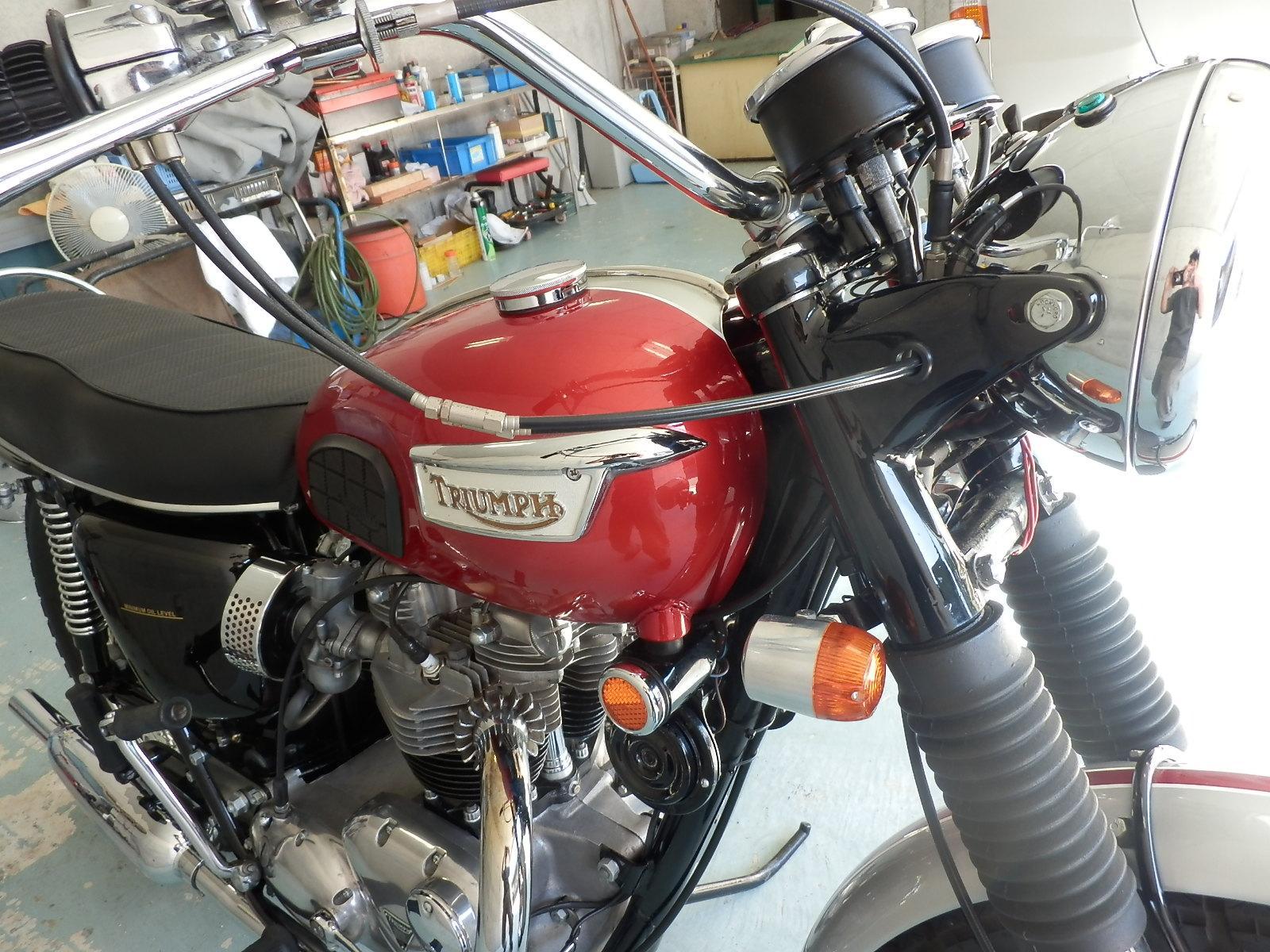 1969年 Triumph T120R_b0153544_2256951.jpg