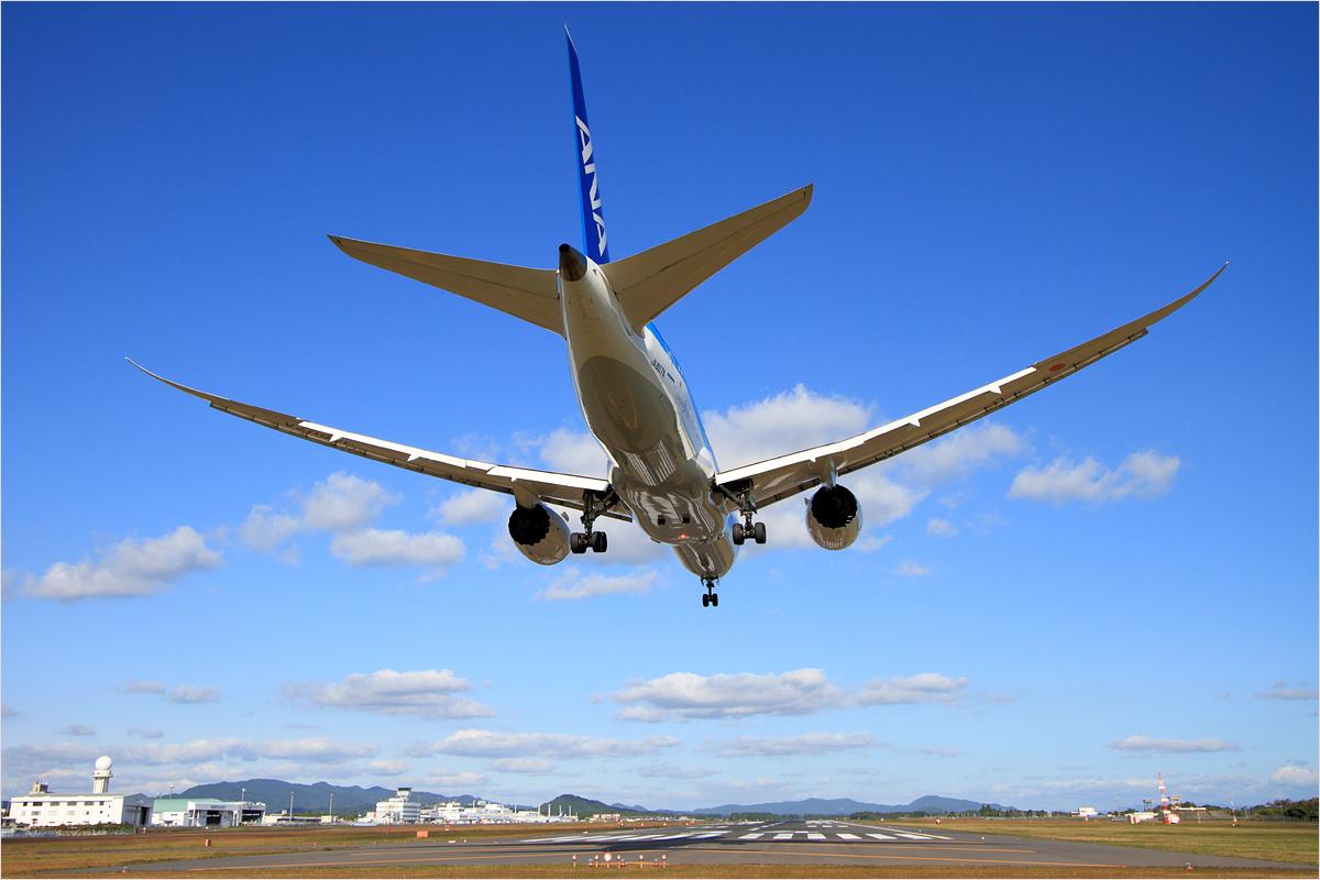 しなやかな翼 - 鹿児島空港_c0308259_23504334.jpg