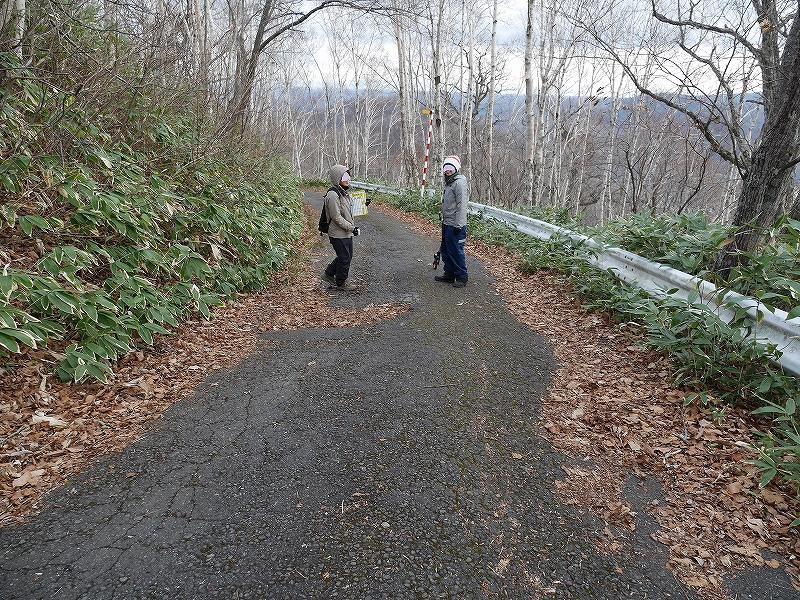 11月14日、恵庭岳と紋別岳-その2-_f0138096_14134023.jpg