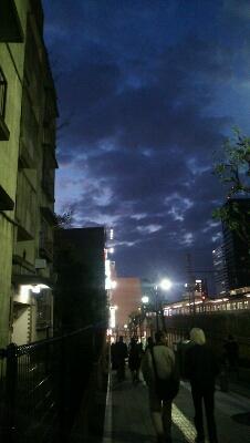 今日の夕景_a0052916_17551559.jpg