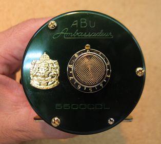 uoya×P・F・J amb.5500CD-L グリーン&シルバーブルー_a0153216_12181368.jpg