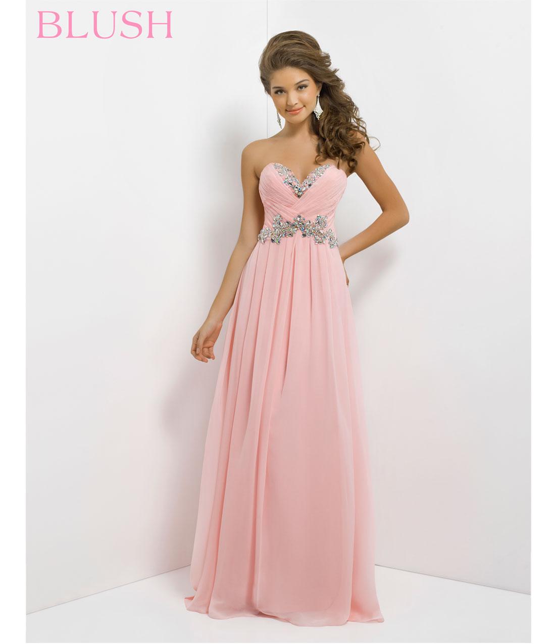 Blush Pink Prom Dress Photo Album - Reikian