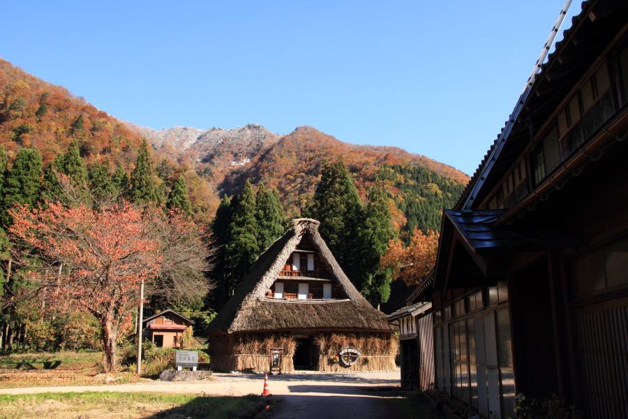 五箇山の紅葉風景 ~自虐編~_a0203733_14133732.jpg