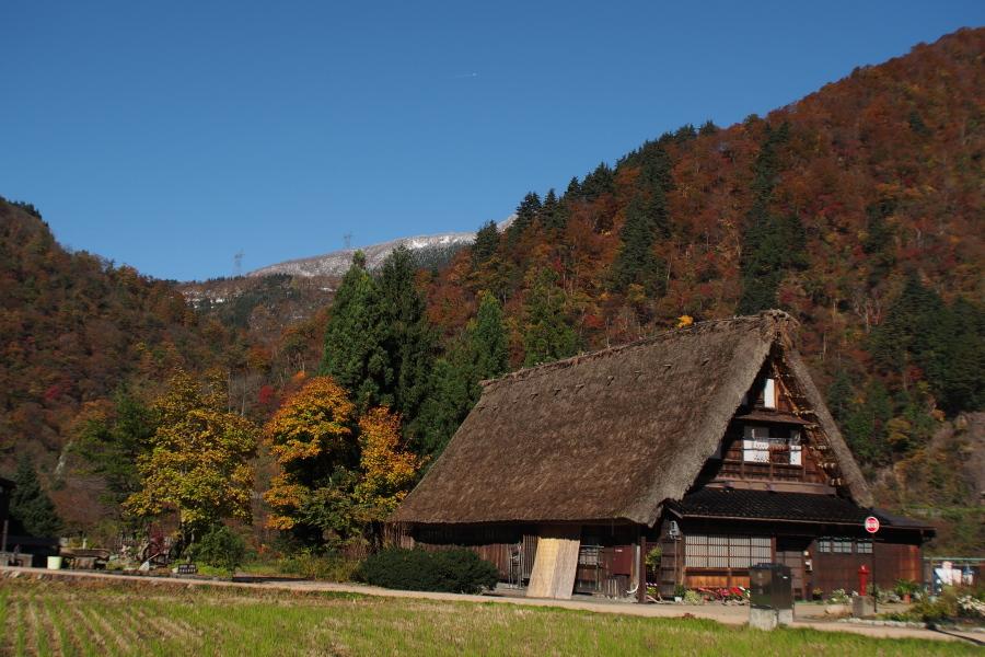 五箇山の紅葉風景 ~自虐編~_a0203733_14135497.jpg