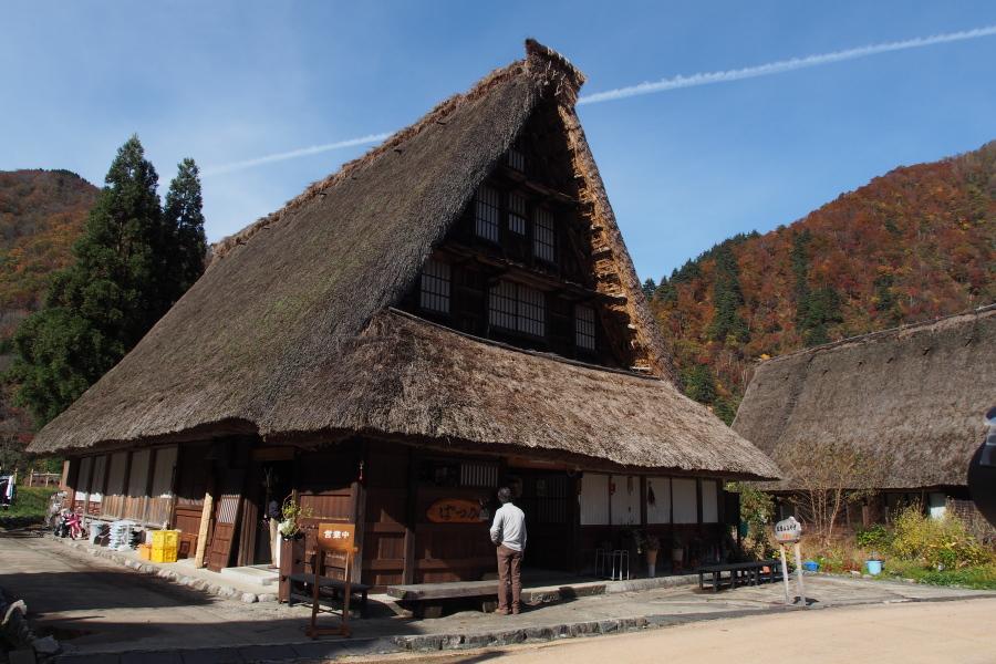 五箇山の紅葉風景 ~自虐編~_a0203733_14142054.jpg