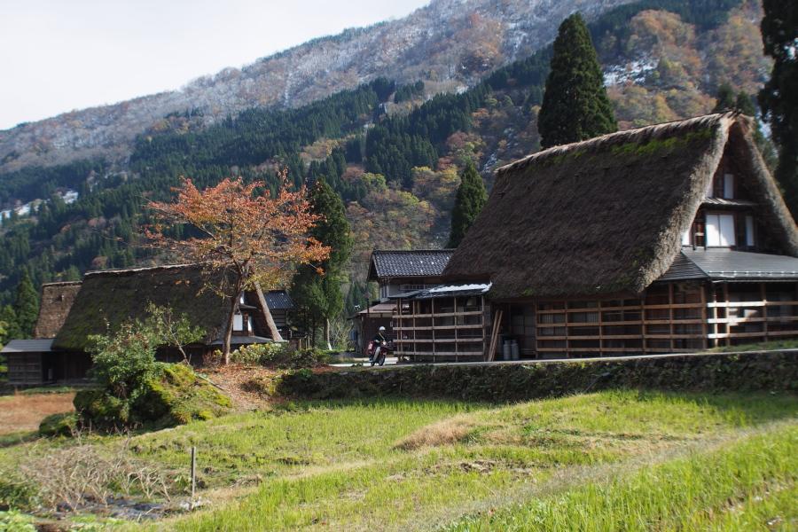 五箇山の紅葉風景 ~自虐編~_a0203733_1415490.jpg