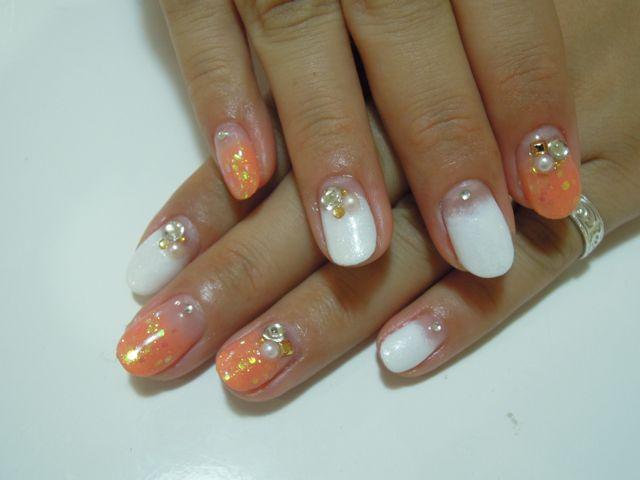 Orange Nail_a0239065_14523815.jpg