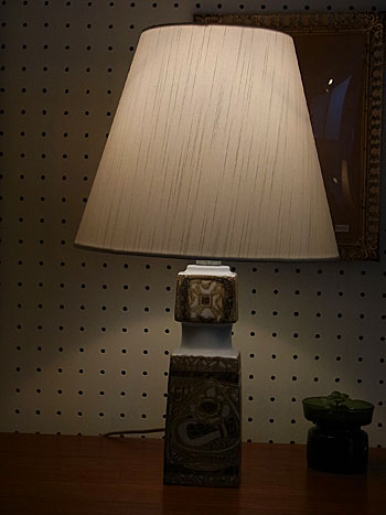 royal copenhagen table lamp_c0139773_16322421.jpg