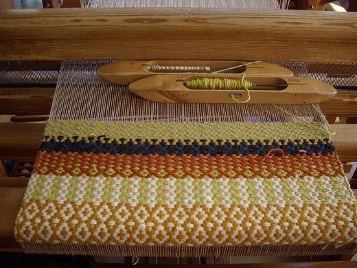 ローゼンゴン織りのマット_f0088082_15482566.jpg