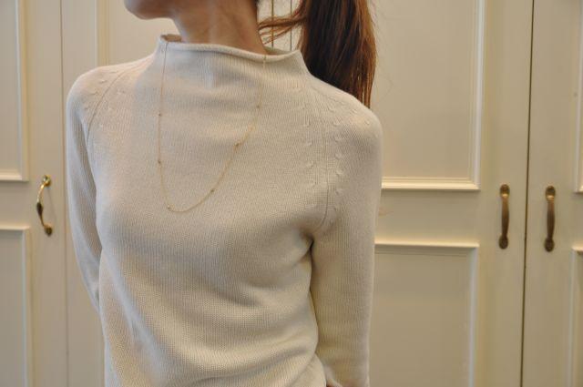リュクスに  ・・・   knit 。 outer 。。。_b0110586_19523985.jpg