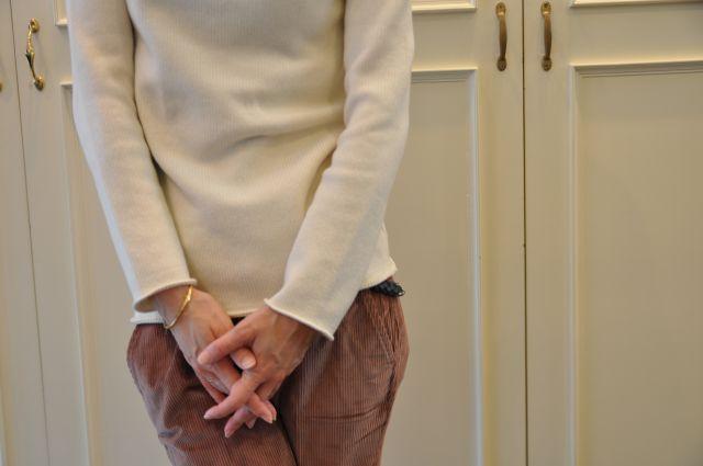 リュクスに  ・・・   knit 。 outer 。。。_b0110586_19525173.jpg